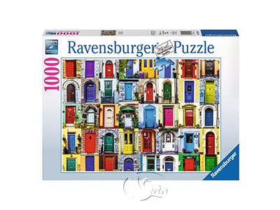 【Ravensburger拼圖-1000片】世界上的門Doors of the World