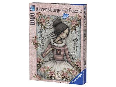 【Ravensburger拼圖-1000片】心中的秘密Mirabelle: The Secret