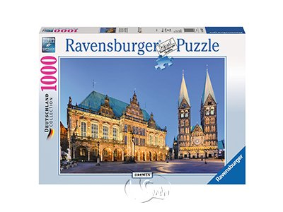 【Ravensburger拼圖-1000片】德國不來梅Bremen