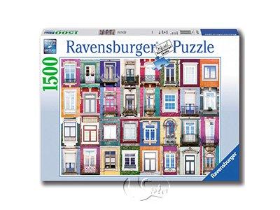 【Ravensburger拼圖-1500片】窗之美Portugese Windows