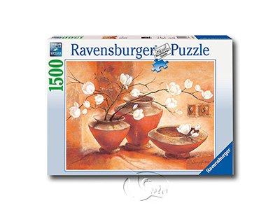【Ravensburger拼圖-1500片】潔白木蘭花White Magnolias