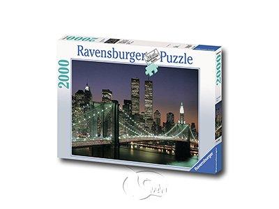 【Ravensburger拼圖-2000片】布魯克林大橋Brooklyn Bridge