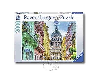 【Ravensburger拼圖-2000片】古巴Colourful Cuba