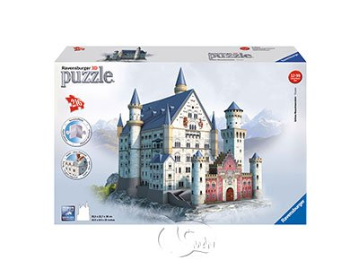 【Ravensburger-3D立體拼圖-216片】立體新天鵝堡Neuschwanstein Castle