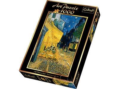 【名畫系列拼圖-1000片】梵谷-夜晚露天咖啡座Caffe Terrace by Night, van Gogh