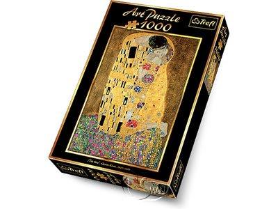【名畫系列拼圖-1000片】克林姆-吻The Kiss, Klimt