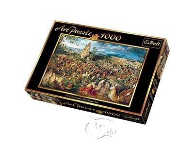 【名畫系列拼圖-1000片】布勒哲爾-通往十字架的隊伍The Road to Calvary, Bruegel