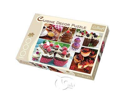 【美食系列拼圖-1000片】杯子蛋糕Muffins