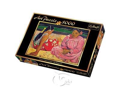 【名畫系列拼圖-1000片】高更-大溪地女人,在海邊Women of Tahiti on the beach, Gauguin