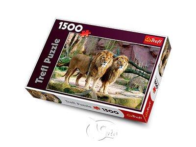 【拼圖-1500片】獅群Lions
