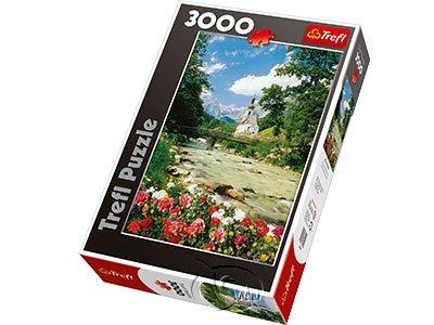 【拼圖-3000片】風光明媚的阿爾卑斯山Ramsau, Bavaria Alps, Germany