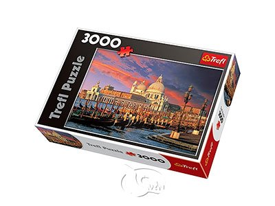 【拼圖-3000片】威尼斯安康聖母聖殿Santa Maria della Salute, Venice
