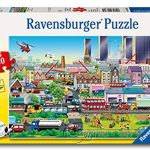 【Ravensburger拼圖-60片】忙碌的街坊Busy Neighborhood