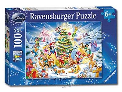 【Ravensburger-大拼片拼圖-100XXL片】迪士尼聖誕佳節Disney Xmas