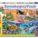 【Ravensburger-大拼片拼圖-100XXL片】美麗海洋Beautiful Ocean