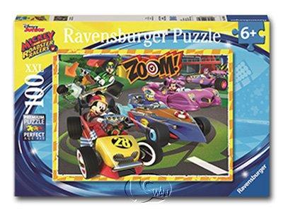 【Ravensburger-大拼片拼圖-100XXL片】迪士尼:去吧米奇!MRR: Go Mickey!