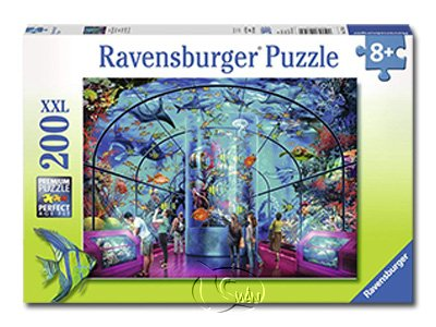 【Ravensburger-大拼片拼圖-200XXL片】海生館Aquatic Exhibition