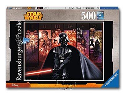 【Ravensburger拼圖-500片】星際大戰:黑武士SW:Star Wars Saga