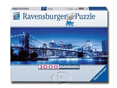 【Ravensburger-全景拼圖-1000片】紐約暮光之城Twilight New York