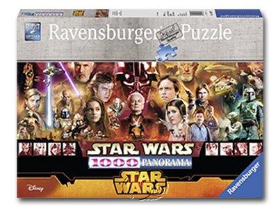 【Ravensburger-全景拼圖-1000片】星際大戰1-6Star Wars EpisodeI-VI