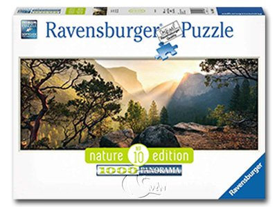 【Ravensburger-全景拼圖-1000片】優勝美地國家公園Yosemite Park