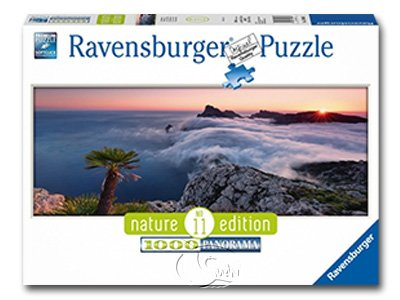 【Ravensburger-全景拼圖-1000片】雲海之間In a Sea of Clouds
