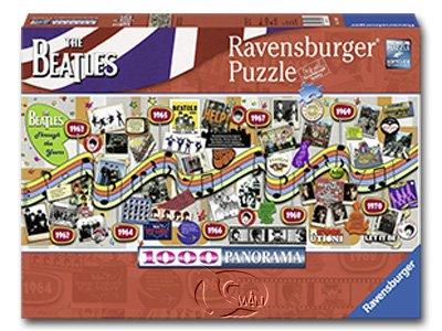 【Ravensburger-全景拼圖-1000片】披頭四經典年表Beatles through the Years