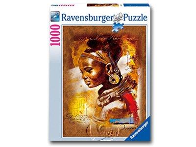 【Ravensburger拼圖-1000片】非洲佳人African Beauty