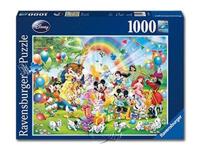 【Ravensburger拼圖-1000片】迪士尼:米奇的生日DMM:Mickey's Birthday