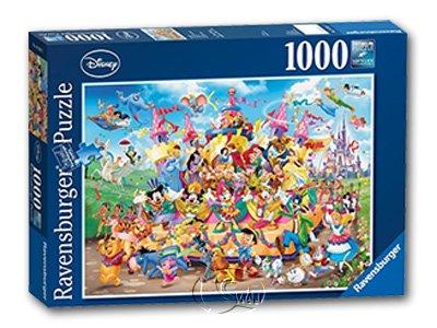 【Ravensburger拼圖-1000片】迪士尼群星狂歡節Disney Carnival Multicha.