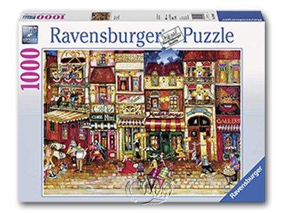 【Ravensburger拼圖-1000片】法國街道Streets of France