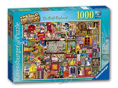 【Ravensburger拼圖-1000片】科林湯普森:工藝櫥櫃The Craft Cupboard