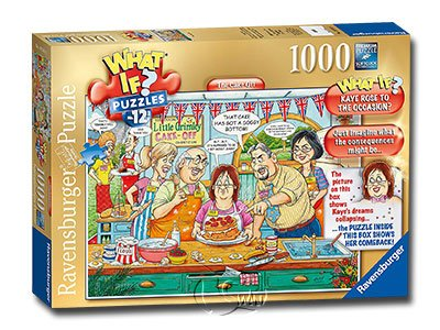 【Ravensburger拼圖-1000片】如果系列:蛋糕夢WHAT IF?No.12The Cake Off
