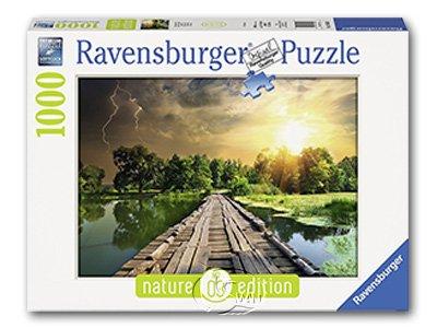 【Ravensburger拼圖-1000片】神秘的天空Mystic Skies