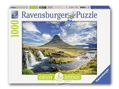 【Ravensburger拼圖-1000片】教堂山的景致Visions of Kirkjufell