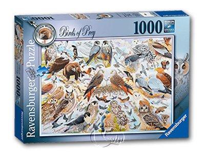 【Ravensburger拼圖-1000片】猛禽圖鑑Birds of Prey