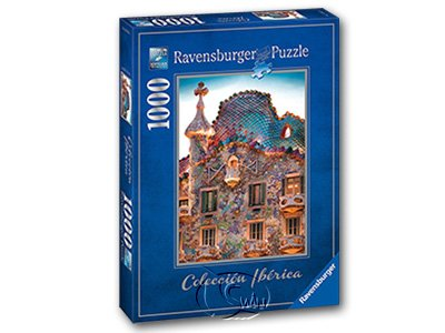 【Ravensburger拼圖-1000片】巴塞隆納巴特略之家Casa Batll?, Barcelona