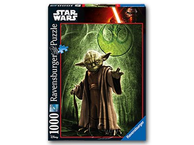 【Ravensburger拼圖-1000片】星際大戰:尤達Yoda