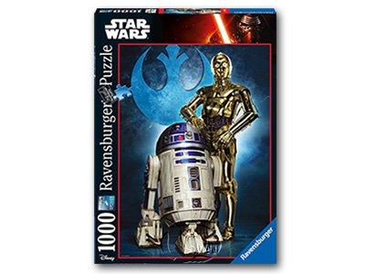 【Ravensburger拼圖-1000片】星際大戰:R2-D2 & C-3POR2-D2 & C-3PO
