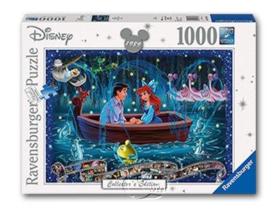 【Ravensburger拼圖-1000片】迪士尼:小美人魚愛之船Arielle