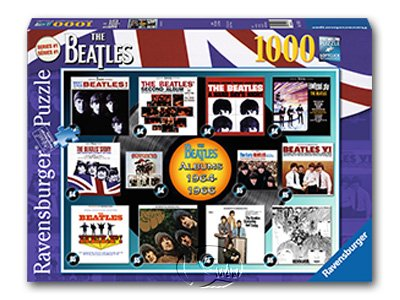 【Ravensburger拼圖-1000片】披頭四專輯1964-1966Beatles: Albums 1964-1966