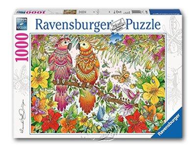【Ravensburger拼圖-1000片】熱帶氣息Tropical Feeling
