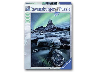 【Ravensburger拼圖-1000片】挪威Stetind山Stetind in North-Norway