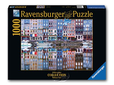 【Ravensburger拼圖-1000片】翁弗勒爾的倒影Honefleur Reflection