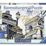 【Ravensburger拼圖-1200片】手繪金漆-金色巴黎Golden Paris
