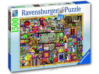 【Ravensburger拼圖-1500片】科林湯普森:工藝櫥櫃Bastelregal