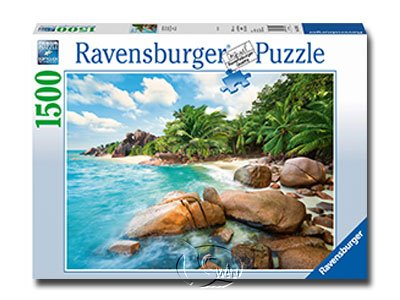 【Ravensburger拼圖-1500片】陽光海灣Beach Bay