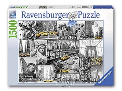 【Ravensburger拼圖-1500片】紐約計程車New York Cabs