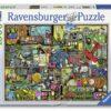 【Ravensburger拼圖-1500片】科林湯普森:鏗!鏘!?噠!Cling