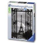 【Ravensburger拼圖-1500片】欄木中的巴黎鐵塔In Paris